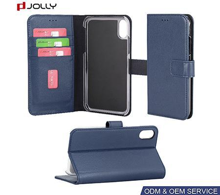 Card Slot Wallet Leather Phone Case iPhone XR Case